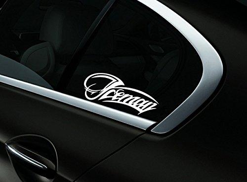 Iceman Kimi Raikkonen F1 Auto- Fenster-Aufkleber- Abziehbild- Styling, Weiß - Fenster-abziehbild Getönte