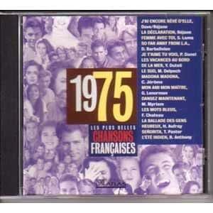 Les plus belles chansons françaises 1975