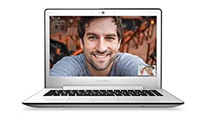 "Lenovo U31-70 Ordinateur portable 13"" Blanc (Intel Core i5, 8 Go de RAM, Disque dur 1 To + 8 Go SSD, Nvidia GeForce 920, Windows 8.1)"
