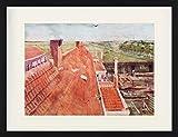 1art1 123926 Vincent Van Gogh - Dächer, Blick Vom Atelier