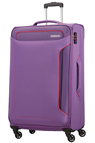 American Tourister Holiday Heat Spinner 77/28, 108 L - 3.8 KG Equipaje de mano, 80 cm, liters, Morado (Lavender Purple)