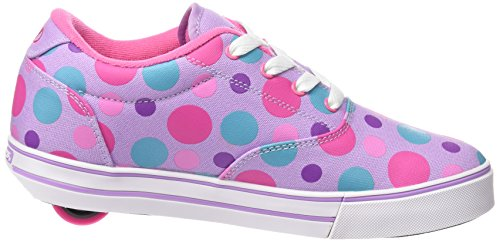 Heelys Launch 770703, Baskets Basses Fille multicouleur - multi (Lilac/Multi Polka Dots)