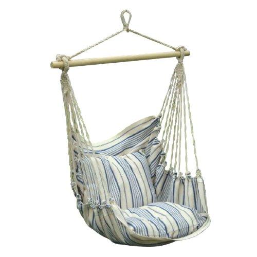 Papillon 8042835 - Hamaca sillón colgante, color natural / azul