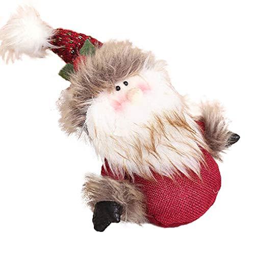 BESSKY Christmas Ornaments Cute Welcome Santa Snowman Xmas Door Hanging Decoration Weihnachtsmann Tür hängende Dekoration -