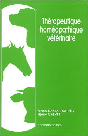 Thrapeutique homopathique vtrinaire