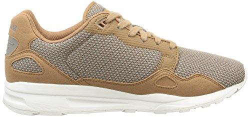 Le Coq Sportif Lcs R900 Mesh 2 Toni Herren Sneaker Braun - Marron (occhi Di Tigre / Titanio)