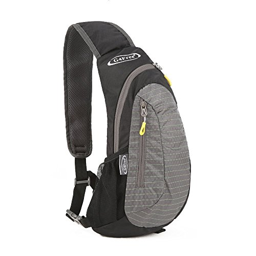 G4Free Leichte Brust Sling Schulter Rucksäcke Nette Umhängetasche Dreieck Pack Rucksack zum Wandern Radfahren Reisen oder Multipurpose Tagepacks -