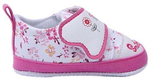 Klettverschluss 13 Lauflernschuhe Baby Babyschuh Bigood Bequem Blau Pink Mädchen qSwTapE