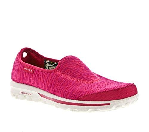 Skechers Go Walk - Upstage, Sneakers Basses femme pink