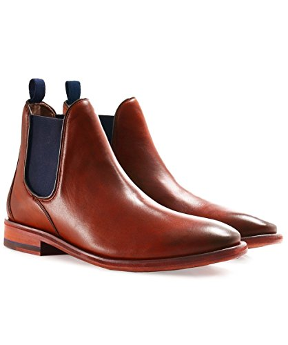 Oliver Sweeney Allegro Chelsea Boot in Antique Tan