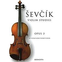 Op.3 (40 Variations) - Violon