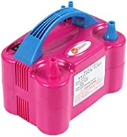 Youmay HT-501 HT-501 Automatic Two Nozzles Balloon Air Pump, Pink, W 21.0 x H 16.4 x L 14.4 cm
