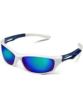 Duduma Gafas de Sol Deportivas Polarizadas Para Hombre Perfectas Para Esquiar Golf Correr Ciclismo TR90 Súper...