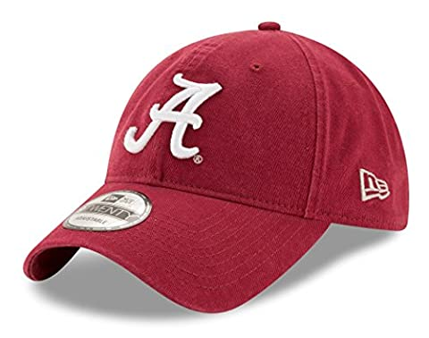 Alabama Crimson Tide New Era 9Twenty NCAA Core Classic Adjustable Hat (Bama Rolle)
