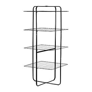 IKEA MULIG - Etendoir, 4 niveaux, noir