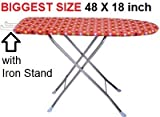#7: TruGood Folding Ironing Board Iron Table with PRESS Stand - XL