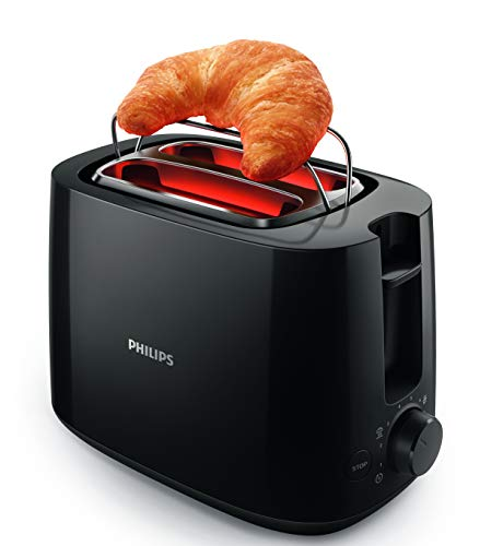 Philips Daily Collection HD2583/90 600-Watt 2 in 1 Toaster and...