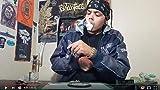 ATMAN Mantis Pipe à fumer pour fines herbes et tabac et mauvaises herbes, 119mm Perfect Trendy Aluminium Portable Ignition Vaporizer Pen ,Pas de nicotine, pas de tabac Black