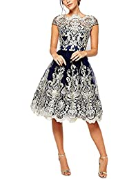e6cc3033f Las Mujeres Vestidos De Fiesta Para Bodas Novia Cortos Vestir Vintage  Elegantes Una Línea Con Volantes