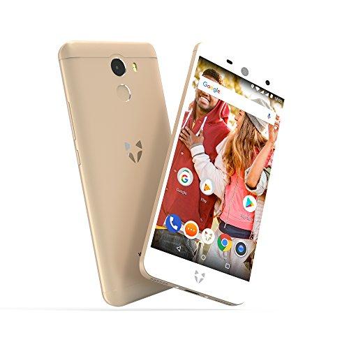 Wileyfox Swift 2 Smartphone Débloqué 4G (Ecran : 5 pouces - 2Go RAM - 16 Go - Double SIM - Android 7.1.1) - Or