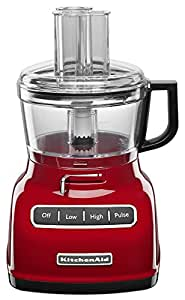 KitchenAid KFP0722ER 7-Cup Food Processor with Exact Slice System - Empire Red by KitchenAid