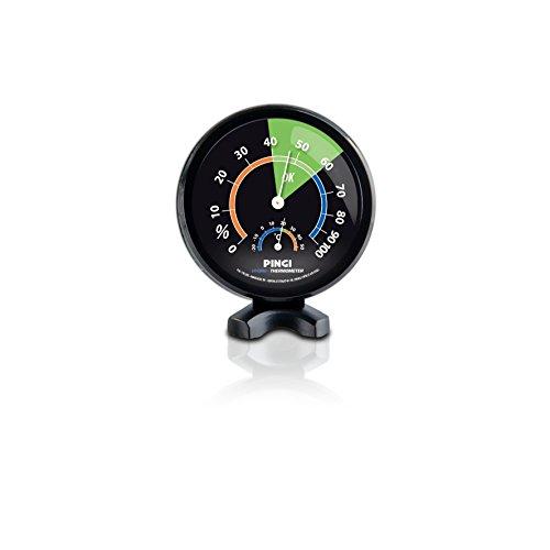 Pingi Hygrometer analog Feuchtigkeit u Thermometer für Entfeuchter