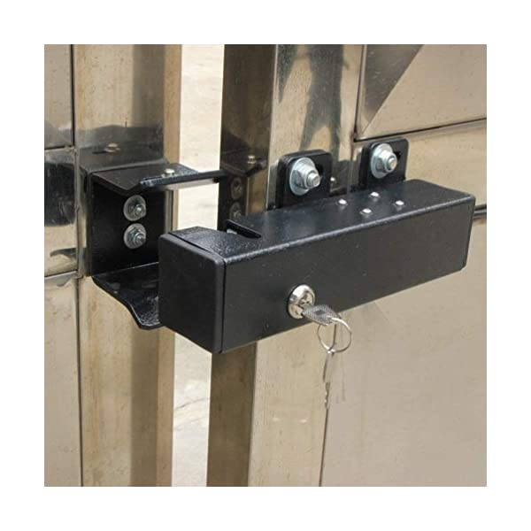 TOPENS ET24 Automatic Electric Gate Lock for Swing Gate Operator Opener  The Automatic Gate Lock Compatible with TOPENS A3/A5/A8, A3S/A5S/A8S, AD5/AD8/AD5S/AD8S, PW502/P802, Except for TOPENS KD702 Swing Gate Opener. Electric Lock can Unlocks and Locks Gates Automatically as You Like Add Security for Your Swing Gate Opener System; The Electric Lock Is Suitable for Strong Wind Place 5