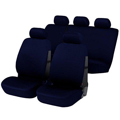 Lupex Shop 17239-01 Coprisedili, Blu Scuro, Set di 6
