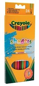 "Crayola ""Shaders Doble composición Lápices de Colores (12 Unidades)"