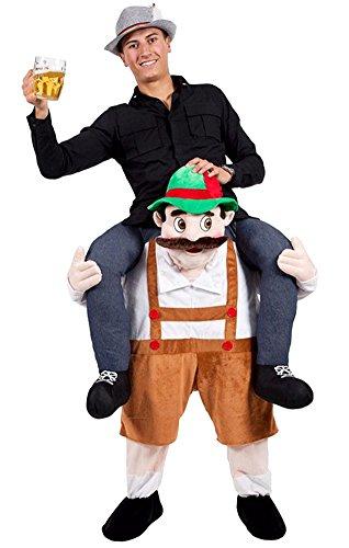 binglinghua Funny Carry Me Weihnachten Halloween-Kostüm Maskottchen Festival Ride Fancy Pants