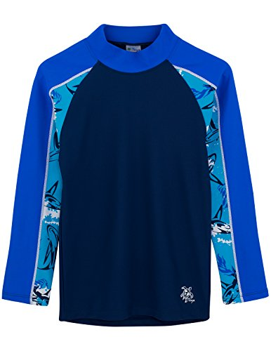 Jungen Tube UV-Shirt, Laguna, 13-14 Jahre (Langarm Laguna)