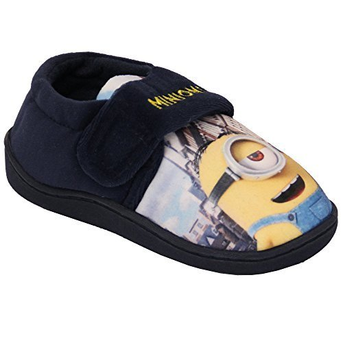 Chaussure Garçon Favori Baskets Enfants Despicable Me Disney Olaf Spiderman À Enfiler Nouveau Bleu/Jaune - BAMBRIDGE