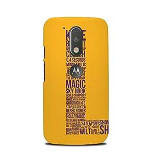 PrintCasual Back Cover For Motorola Moto G4 Plus