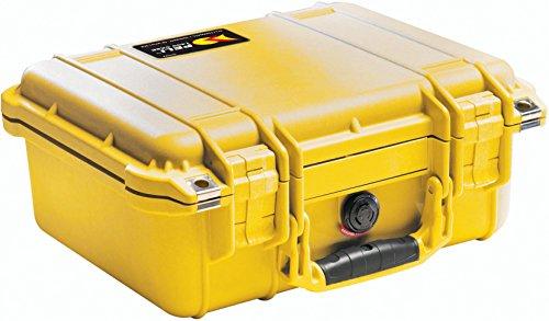 Peli 1400 mit Schaum, Gelb