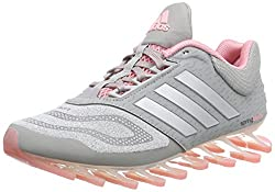 adidas Performance Damen Springblade Drive 2.0 Laufschuhe, Grau (Medium Grey Heather/Silver Met./Super Pop F15), 40 EU