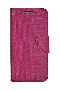 Scudomax Premium PU Leather Flip Cover Case For Lenovo Zuk Z1 (Pink)