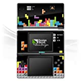 Nintendo DSi Case Skin Sticker aus Vinyl-Folie Aufkleber Spiel 8-Bit Tetris Bunt