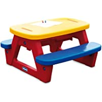 Preisvergleich für Chicco 30700 - KS Kinder Picknick Tisch mit 2 Bänken und Spieltischmöglichkeit