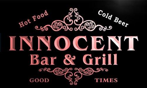 u21603-r-innocent-family-name-bar-grill-home-beer-food-neon-sign-barlicht-neonlicht-lichtwerbung