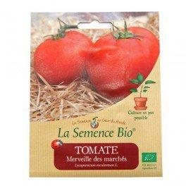 Graines Bio - Tomate Merveille des Marchés 20gn - La Semence Bio