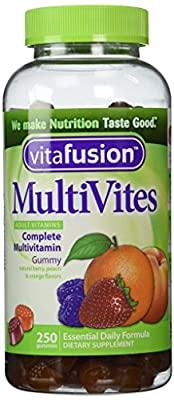 VitaFusion MultiVites Gummy Vitamins for Adults - 250 Gummies by Vitafusion
