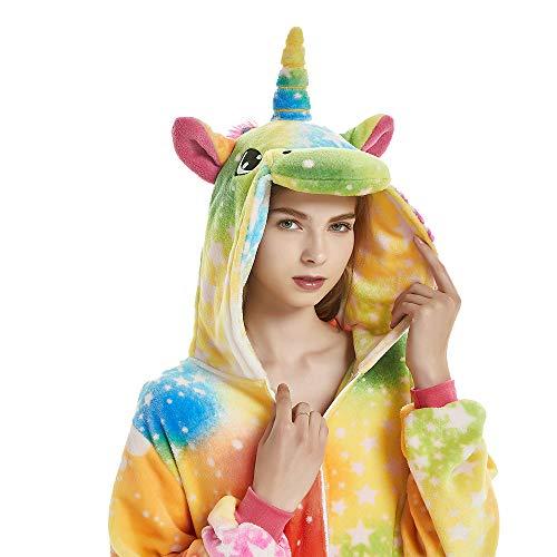 (NN IKEA Karneval Halloween Pyjamas Schlafanzug Mit Kapuze Erwachsene Cosplay Kostüm Erwachsene Unisex,Natural,XL)