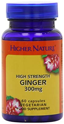 Higher Nature Ginger Pack of 60 from Higher Nature