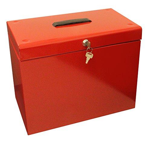 Caja archivadora de metal