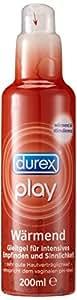 Durex Play Wärmend Gleitgel, 1er Pack (1 x 200 ml)