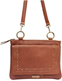 Neonia Brown Leather Sling Bag For Girls (NIA-UD-007)