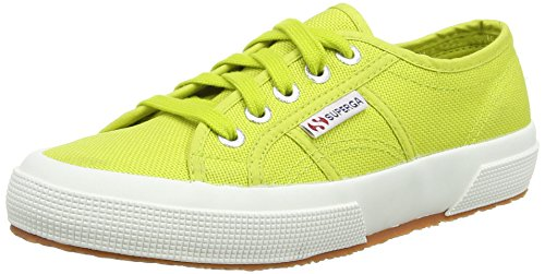 Superga 2750 Cotu Classic, Baskets Basses Femme Vert - Green (Apple)