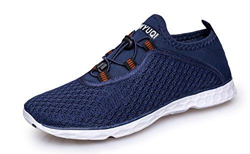 Vibdiv Men's Water Shoes Aqua Qu...