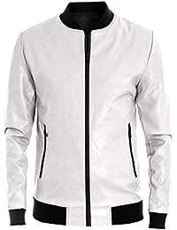 ea45d4800f Amazon.it: giubbotto bianco - L / Uomo: Abbigliamento
