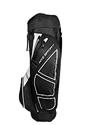 Hot-Z Golf Sport Cart Bag, Black/White
